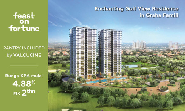 apartment-hotel-modern-office-mall-mewah-surabaya-Bloom Graha Golf