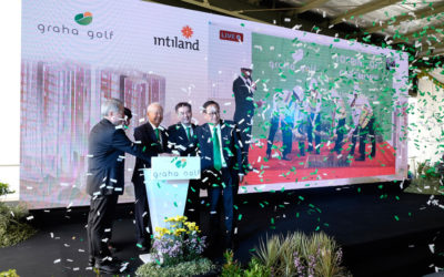 Intiland Holds Topping Off Ceremony of Graha Golf Apartment