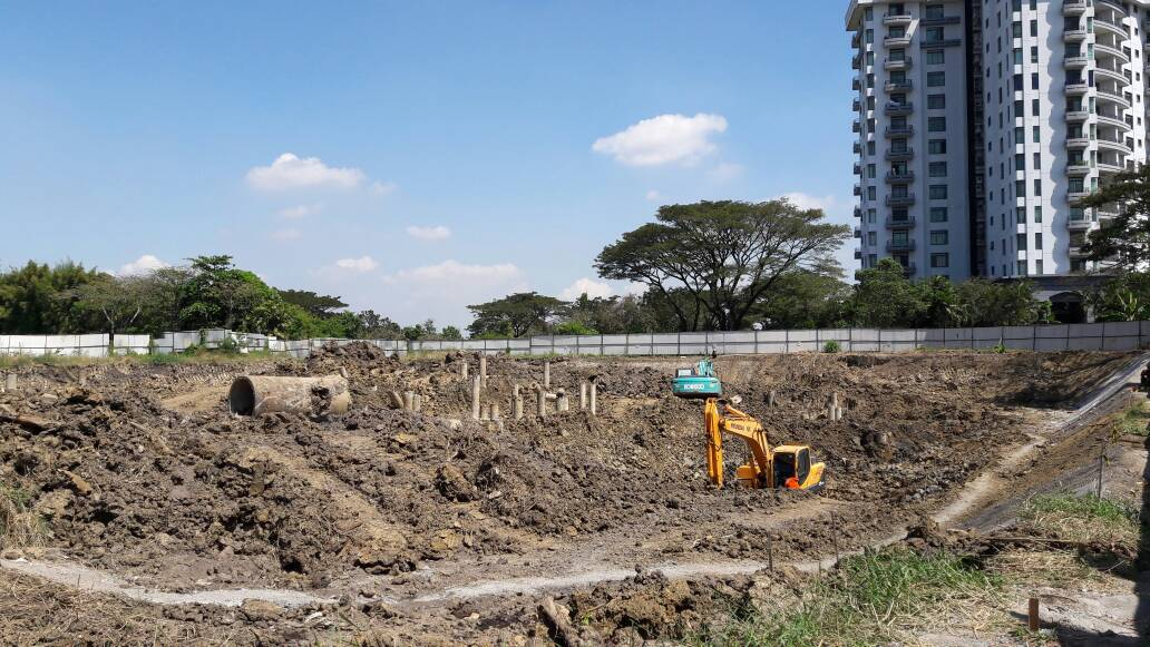 Intiland Starts Graha Golf Construction