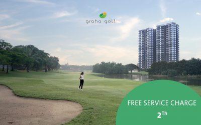 Enchanting Golf View Residence in Graha Famili Surabaya